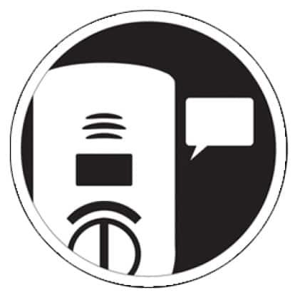 Carbon monoxide alarm voice alert, announces danger