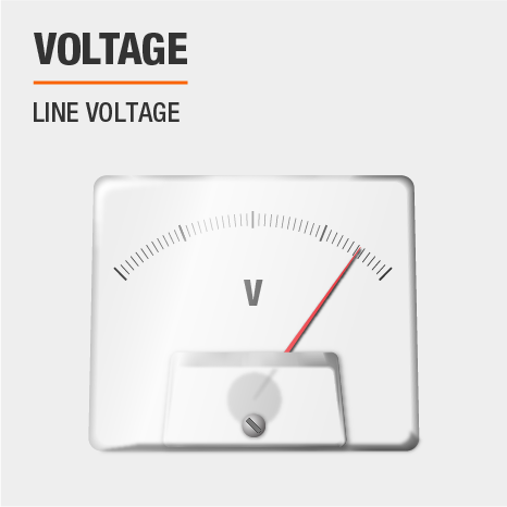 This light uses line voltage.