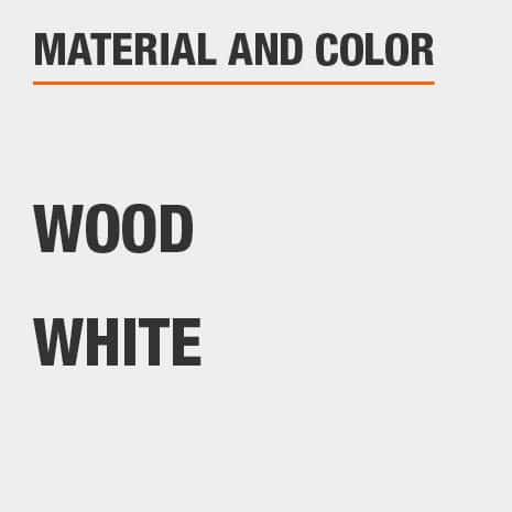 Jewelry Armoire Material Wood and Color White
