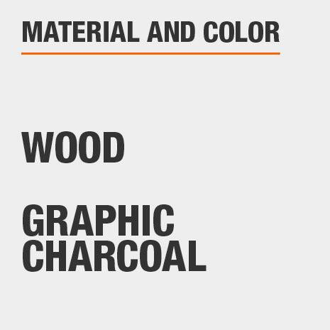 Jewelry Armoire Material Wood and Color Graphic Charcoal