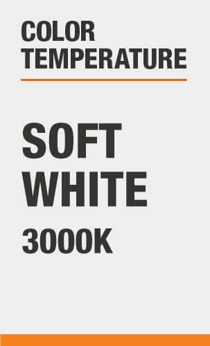 Color Temperature: Soft White 3000K