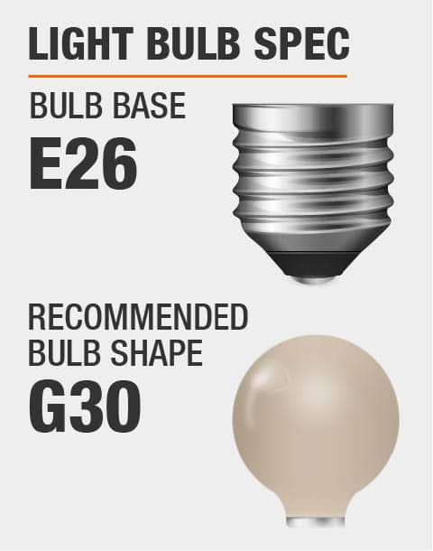 E26 Base G30 Bulb Recommended