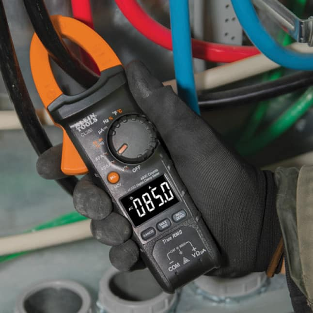 Clamp for AC Current (Amperage) Measurements