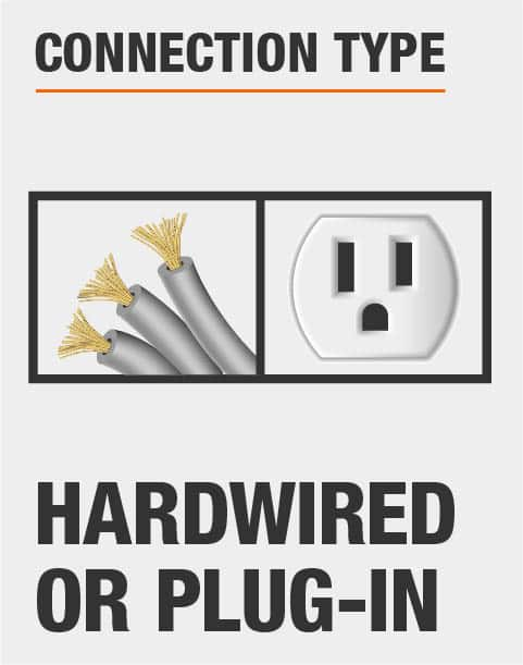 Hardwired or Plug In Connection