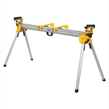 DWX723 Supports up to 500lbs. and 16 ft. of material.  Weighs only 35 lbs.