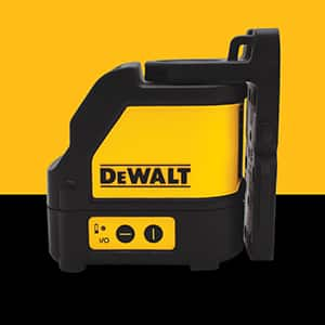 DW088LG 12-Volt MAX Lithium-Ion 165 ft. Green Self-Leveling Cross-Line Laser Level with Battery 2Ah, Charger, & Case