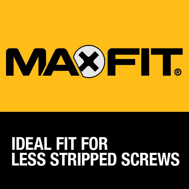 Optimized tip geometry to reduce wear and create ideal fit.