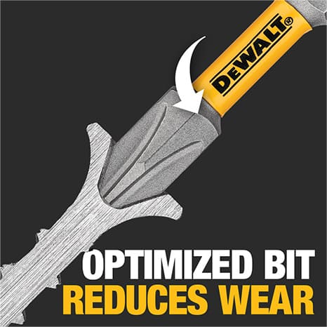 Optimized screw recess for ideal fit with every fastener.