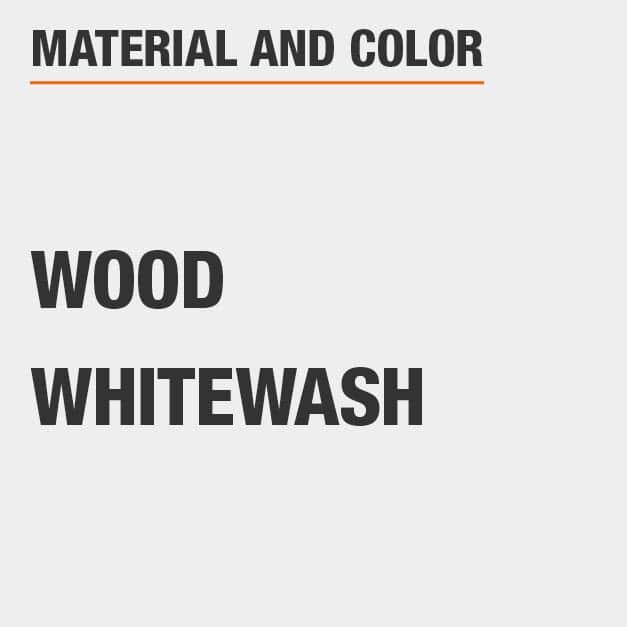 Whitewash Wood Dresser