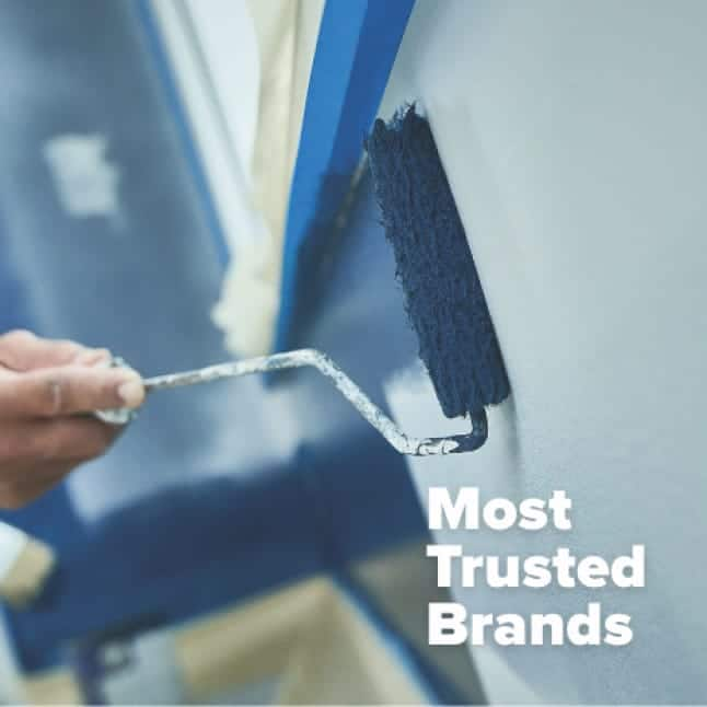 Choose the brand that DIY painters and pros have loved for more than 30 years.