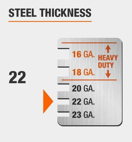22-Gauge Steel Thickness