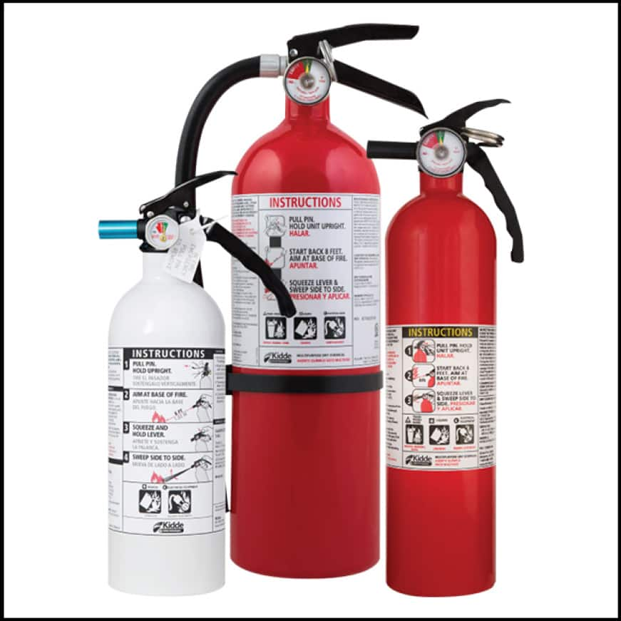 Residential fire extinguishers are disposable