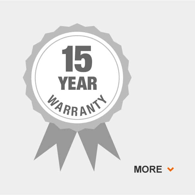 15 year overall grill warranty