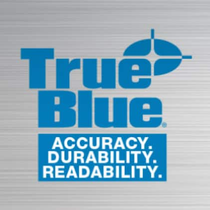 TRUE BLUE® product offerings deliver advanced performance in accuracy, durability, and readability