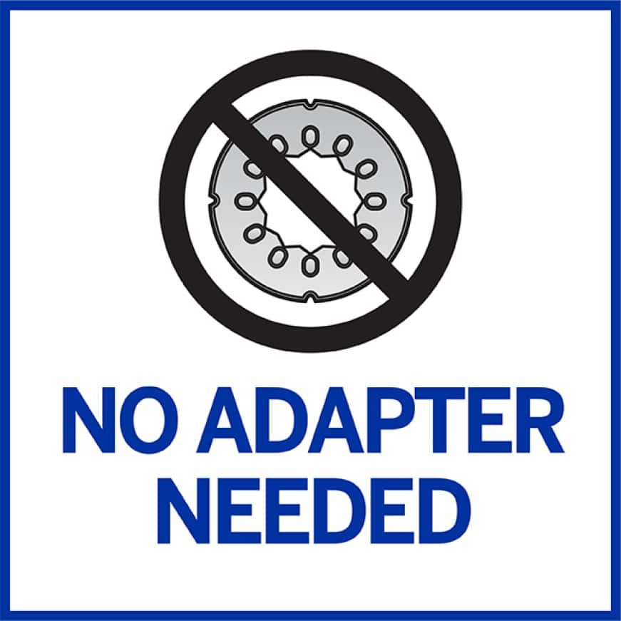 No Adapter Infographic