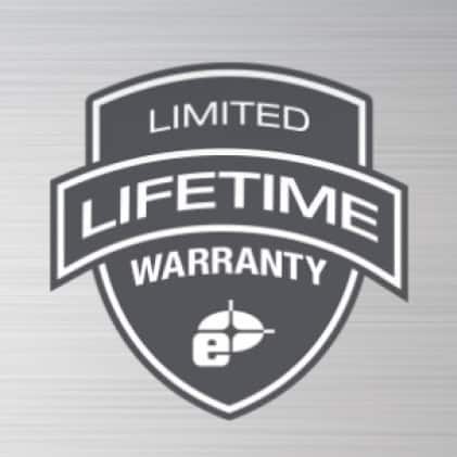 Limited lifetime warranty on frame and vials. 1 year warranty on electronics