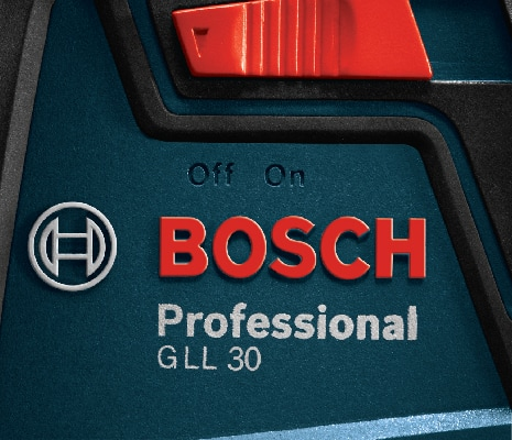 Close up image of Bosch GLL 30 S.