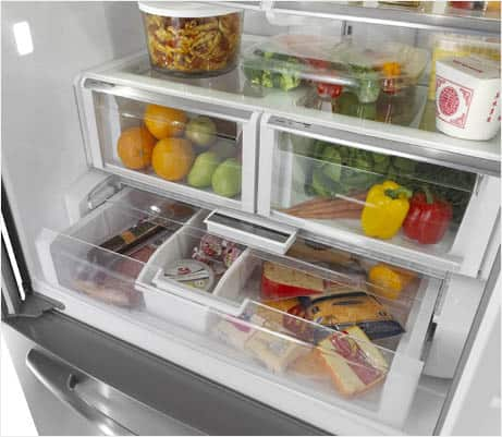 Temperature-Controlled Wide-N-Fresh Deli Drawer