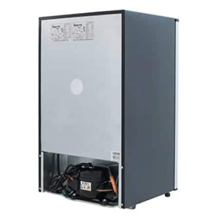 Flush design for rear of refrigerator