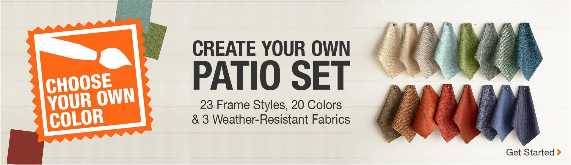Create Your Own Patio Set