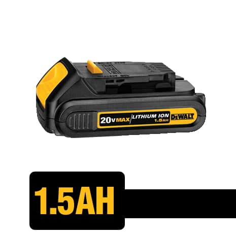 20V MAX and FLEXVOLT Batteries are Compatible with all DEWALT 20V MAX Tools