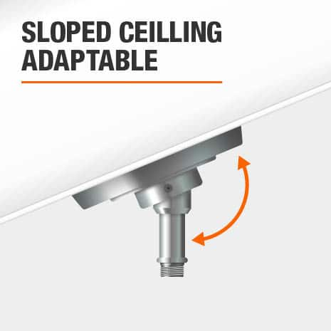 Pendant Light that is Sloped Ceilling Adaptable