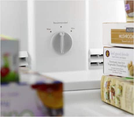 Freezer Temperature Control