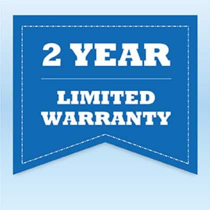 2-Year Limited Warranty