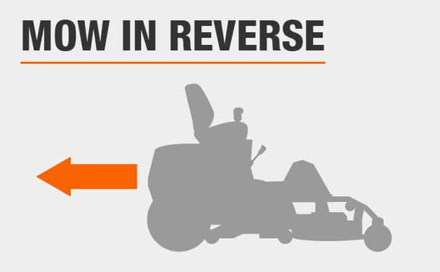 Mow In Reverse