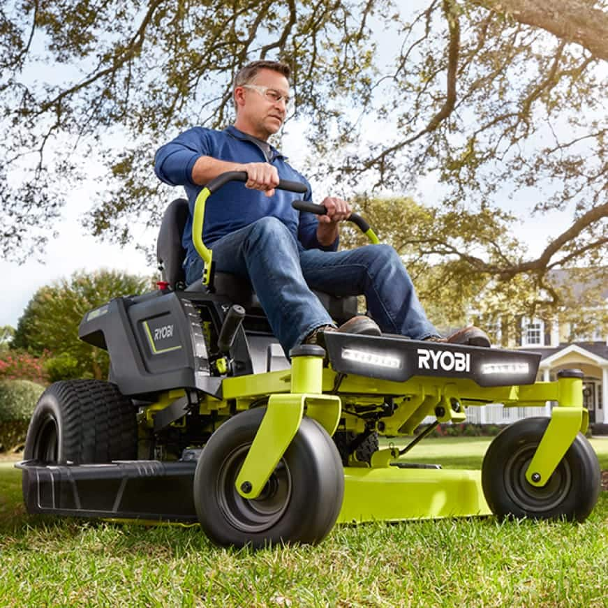 THE FUTURE OF MOWING HAS TAKEN A TURN