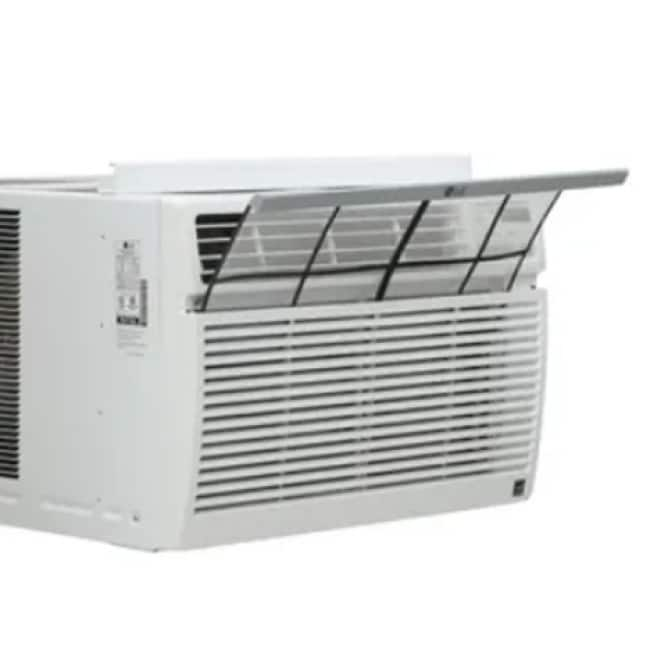 Image of air conditioner with filter pulled out