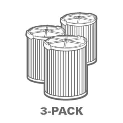 Buy more and save. Significant savings when purchasing the 3-Pack.