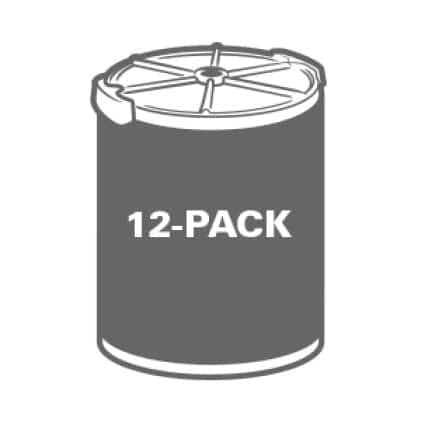 Buy more and save. Significant savings when purchasing the 12-Pack.