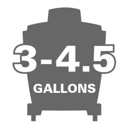 Compatible with RIDGID vacuums 3 to 4.5 gallons