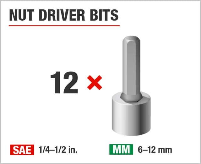 Nut Driver Bits