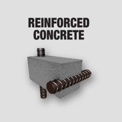 Drilling in Reinforced Concrete