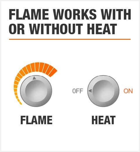 Flame Works With or Without Heat