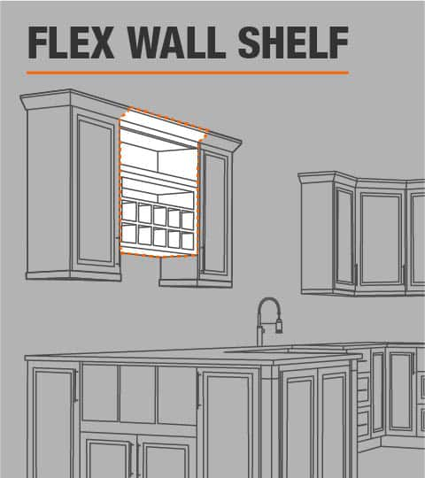 Flex Wall Shelf