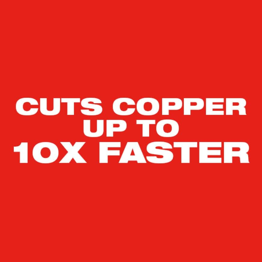 Than conventional copper tubing cutters