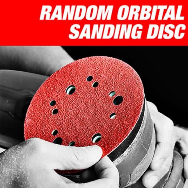 This is an image of Diablo's random orbital sanding discs.