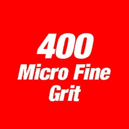 Image of 400 micro fine grit.