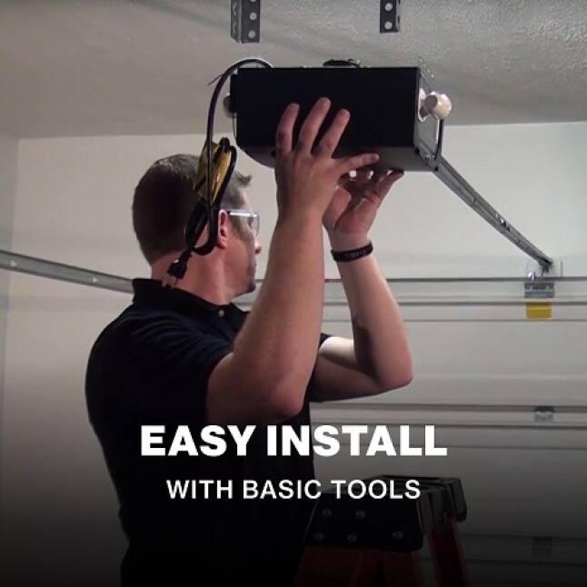 Genie Chain Drive 550 - easy to install garage door opener
