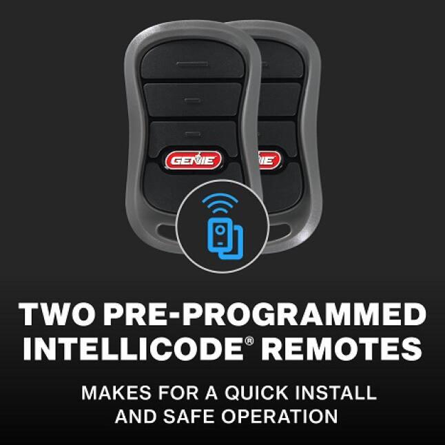 Genie Chain Drive 550 - Genie garage door opener remotes