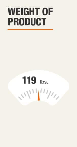 Weight of Product 119 pounds