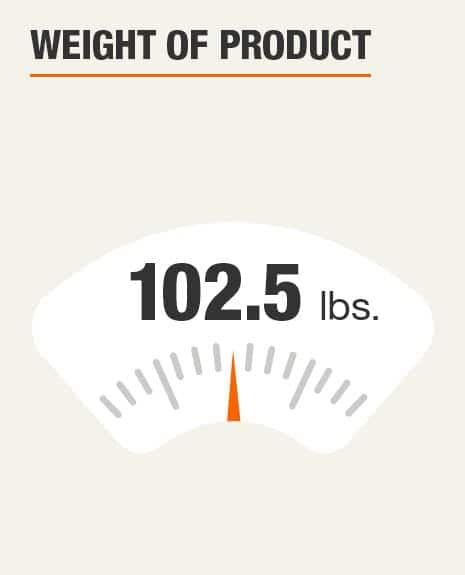 Weight of Product 102.5 lbs.
