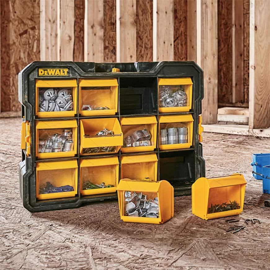 DWST14825 10-Compartment Deep Pro Small Parts Organizer