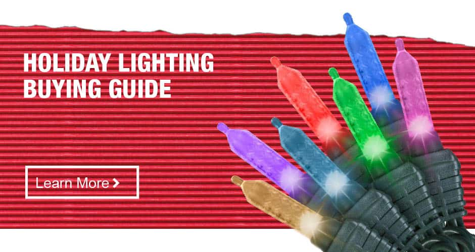 Holiday Light Buying Guide