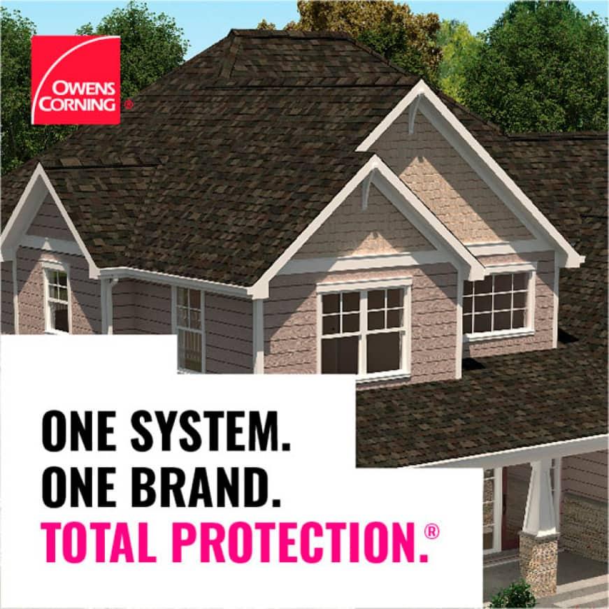 Owens Corning roof beauty shot