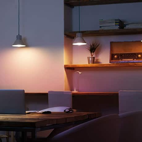 Lights over Table