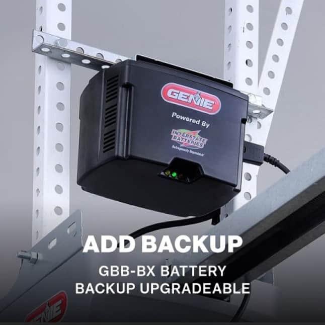 Genie MachForce Screw Drive Garage Door Opener- Battery Backup available